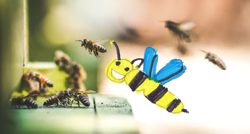 Saving bees è online!